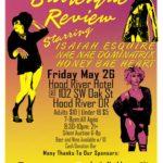burlesque show hood river