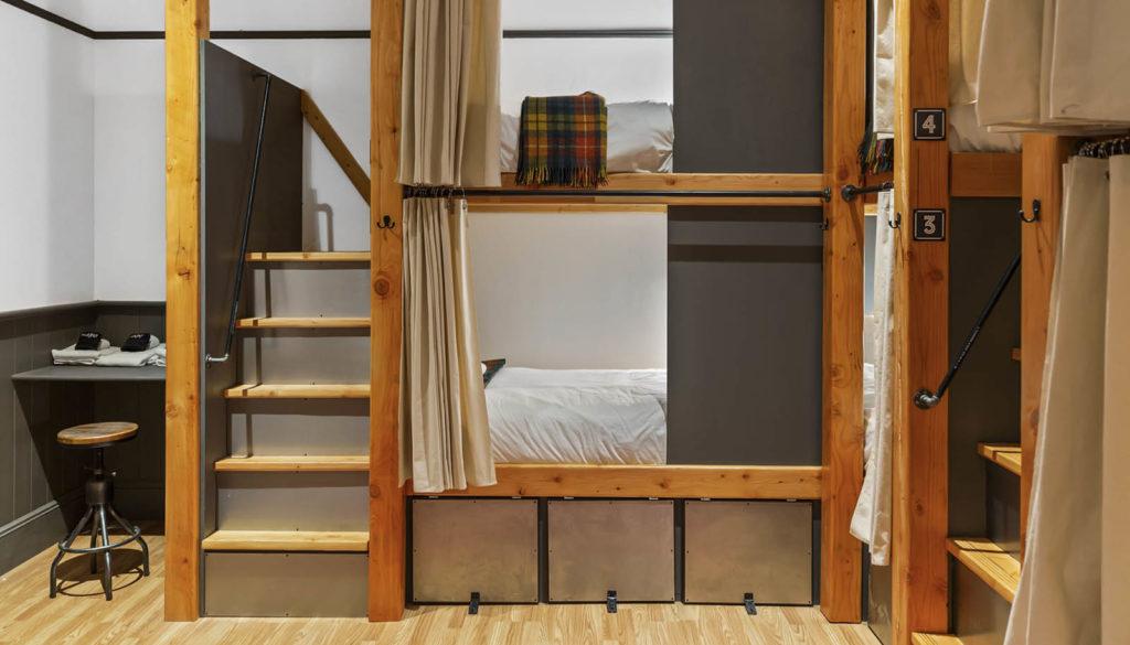 Hood River bunkhouse room